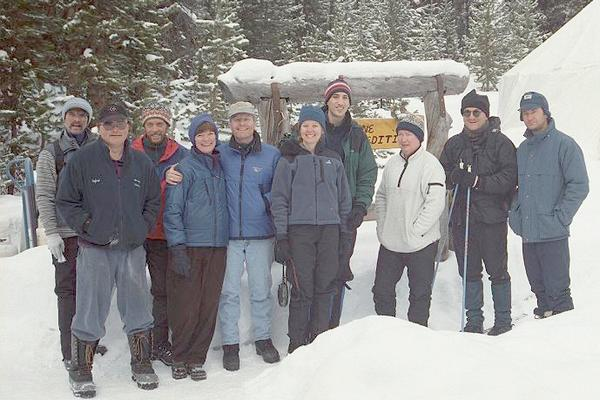 A happy Yellowstone Expeditions group